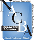 Logo Recognizing Chesterfield Bankruptcy Law's affiliation with National Association of Consumer Bankrupty Attorneys
